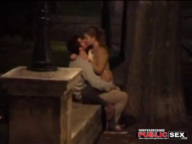 sensual kissing voyeur