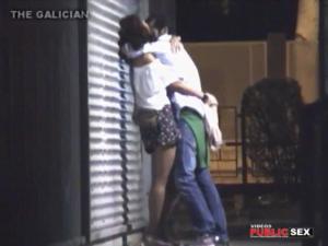 short skirt girl kissing and fingering